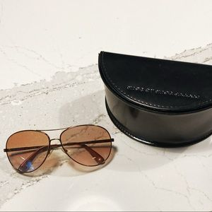 Marc by Marc Jacobs rose tint sunglasses